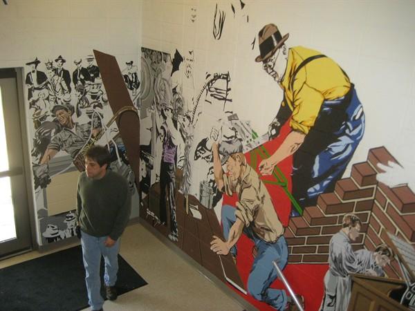 Viewing Album: Labor History Mural